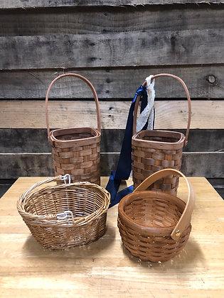 Wooden Woven Basket