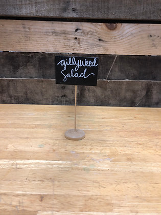 Tall Rectangular Chalkboard Sign