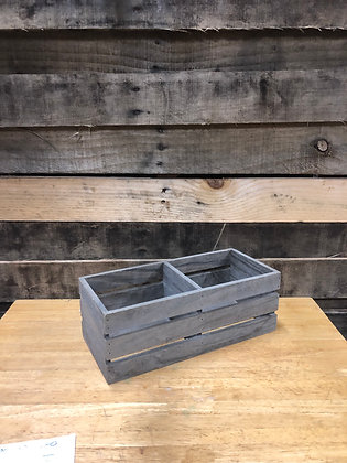 Small Gray Crate