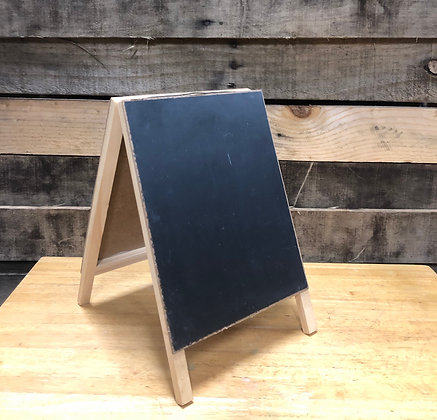 Small A-Frame Chalkboard Sign