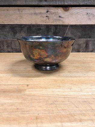 Antique Pewter Bowl