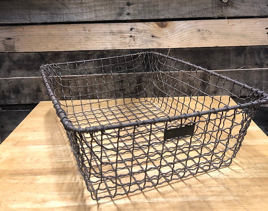 Brass Metal Basket
