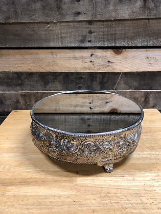 Antique Metal Cake Stand