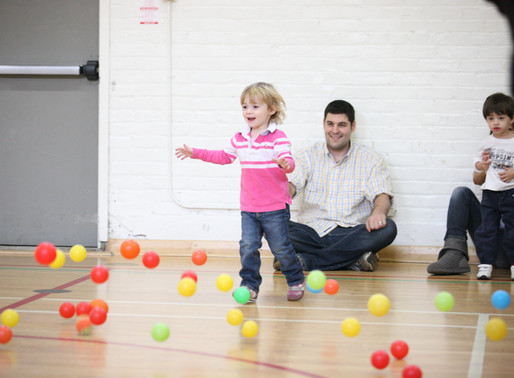 5 WAYS TO HELP YOUR CHILD DURING A PARENT-CHILD CLASS