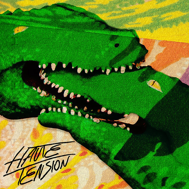Haute Tension Debut Album Art by Monica