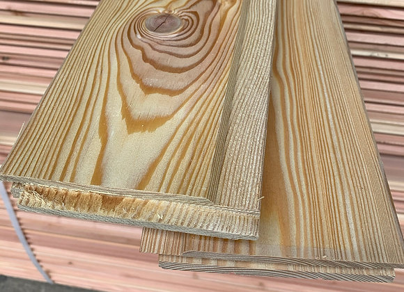 Siberian Larch Tongue and Groove Cladding 145mm x 23mm x 2.9m