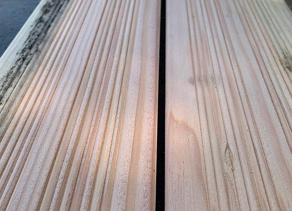 Reject Douglas Fir Untreated Decking 145 x 30 x 3m