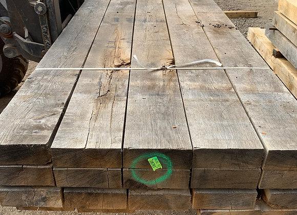 Oak Landscaping Boards/Sleeper Air Dried 200 x 75