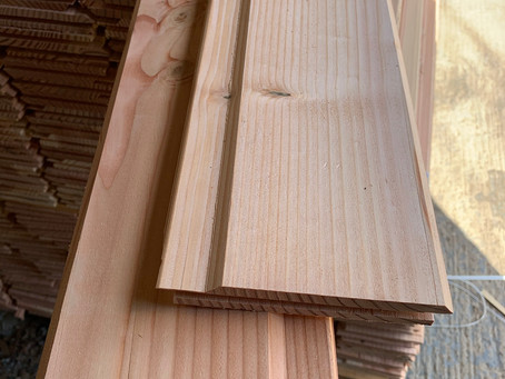 Tongue & Groove Cladding back in stock.