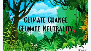 Climate Change Climate Neutrality 2021