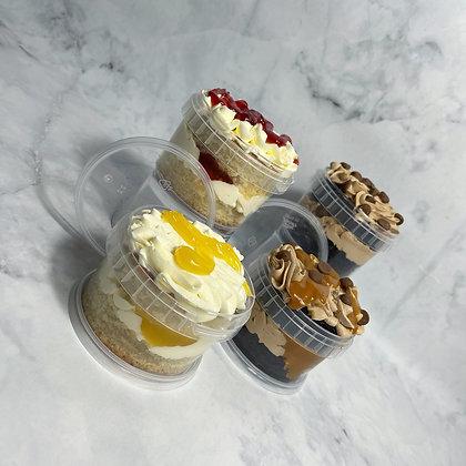 Fathers Day Cake Jars
