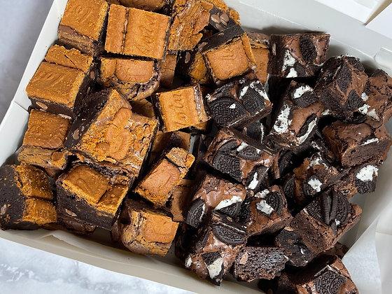 Cubed Brownie Box - 1kg