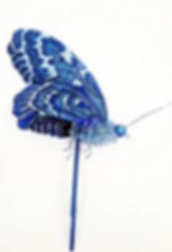 Rekvisit, specialfremstillet rekvisit mekanisk sommerfugl