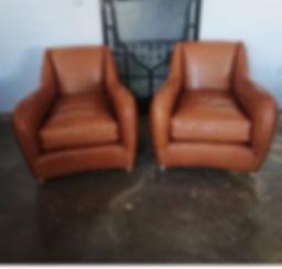 Læder stole
