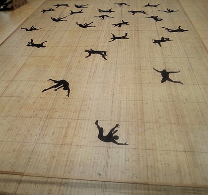 Scenetæppe skovnet tæppe