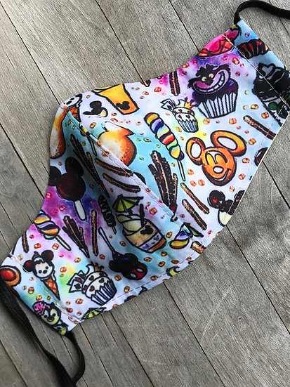 Disneyland Snacks Mask