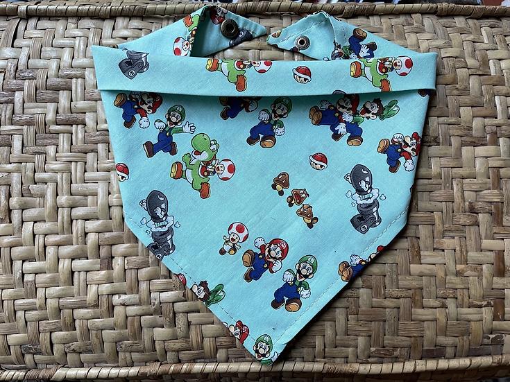 Super Mario Bandana w/ Snaps