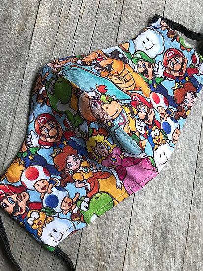 Super Mario Characters Mask