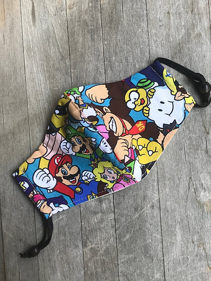 Super Nintendo Characters Mask