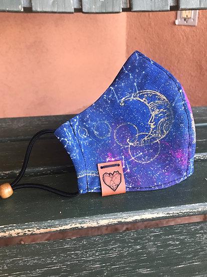 Glittery Galactic Mask