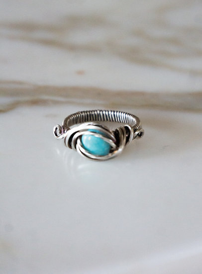 Turquoise w/ Silver Ring