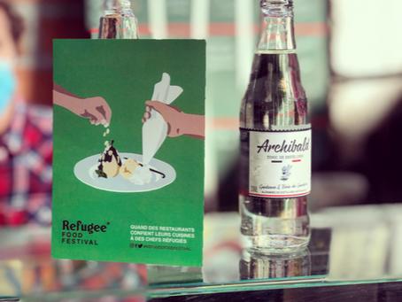 Archibald Tonic soutient Refugee Food Festival. Interview de Marine Mandrila, fondatrice de l'asso