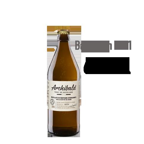 Archibald 6 x 50cl - Bergamote & Gentiane - vieilli en fût