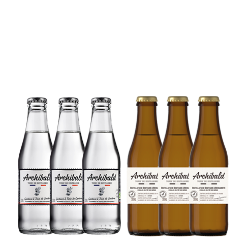 Archibald Discovery Pack: Original 3x20cl + Limited Edition 3x20cl