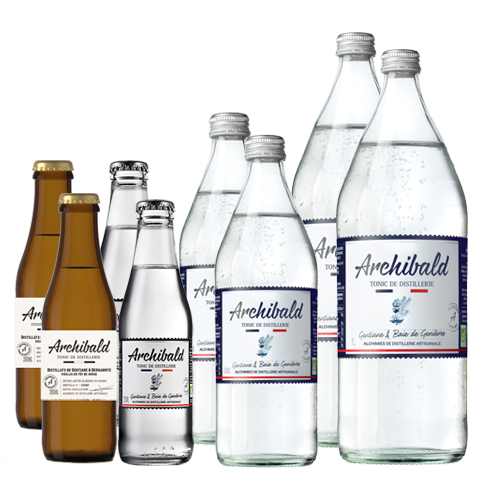 Lot Découverte Archibald Original 2x20cl + 2x50cl + 2x1L + Ed. Lim. 2x20cl