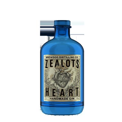Zealot's Heart Gin – Brewdog  40% 70cl