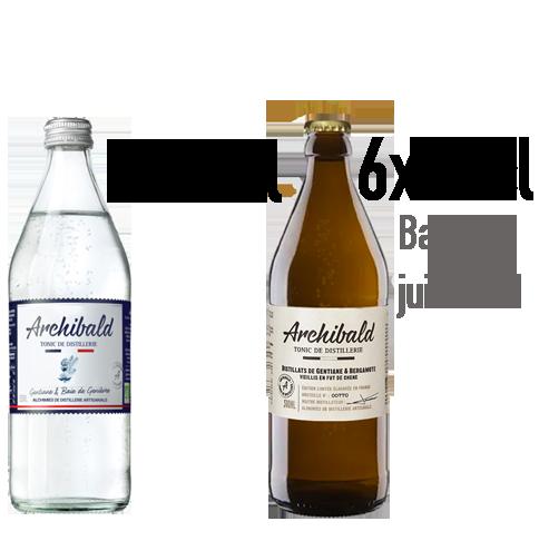 Lot Découverte Archibald : Original 6x50cl + Édition Limitée 6x50cl