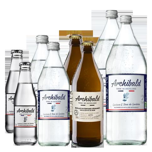 Lot Découverte Archibald Original 2x20cl + 2x50cl + 2x1L + Ed. Lim.2x50