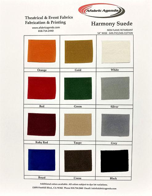 Harmony Suede 2020