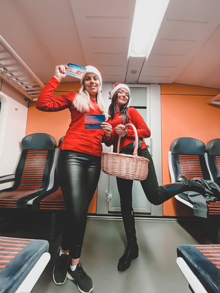 Omniva päkapikud Elroni rongides 2019