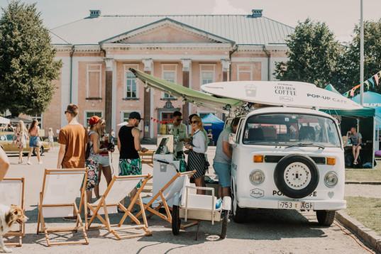 Paulig Cold Brew pop-up cafe