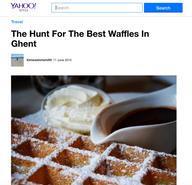 Belgium travel piece for Yahoo