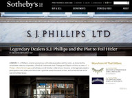 Blog for Sotheby's auction house