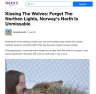 Norway travel piece for Yahoo