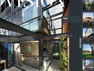 Vision  Magazine  Showcases Dux House in  O'Grady Street and The Block