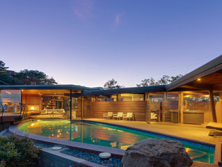 John Lautner's Foster Carling house for sale....who wants to chip in and timeshare?