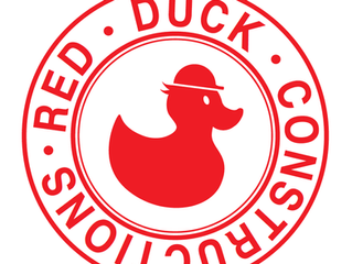 Not this little Black Duck,  its all about Red Duck Constructions.