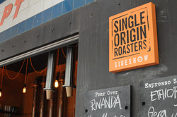 Single Origin Roasters Sideshow exterior details