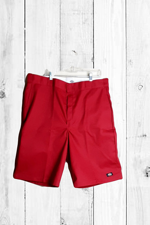 DICKIES WORK SHORTS (RED)