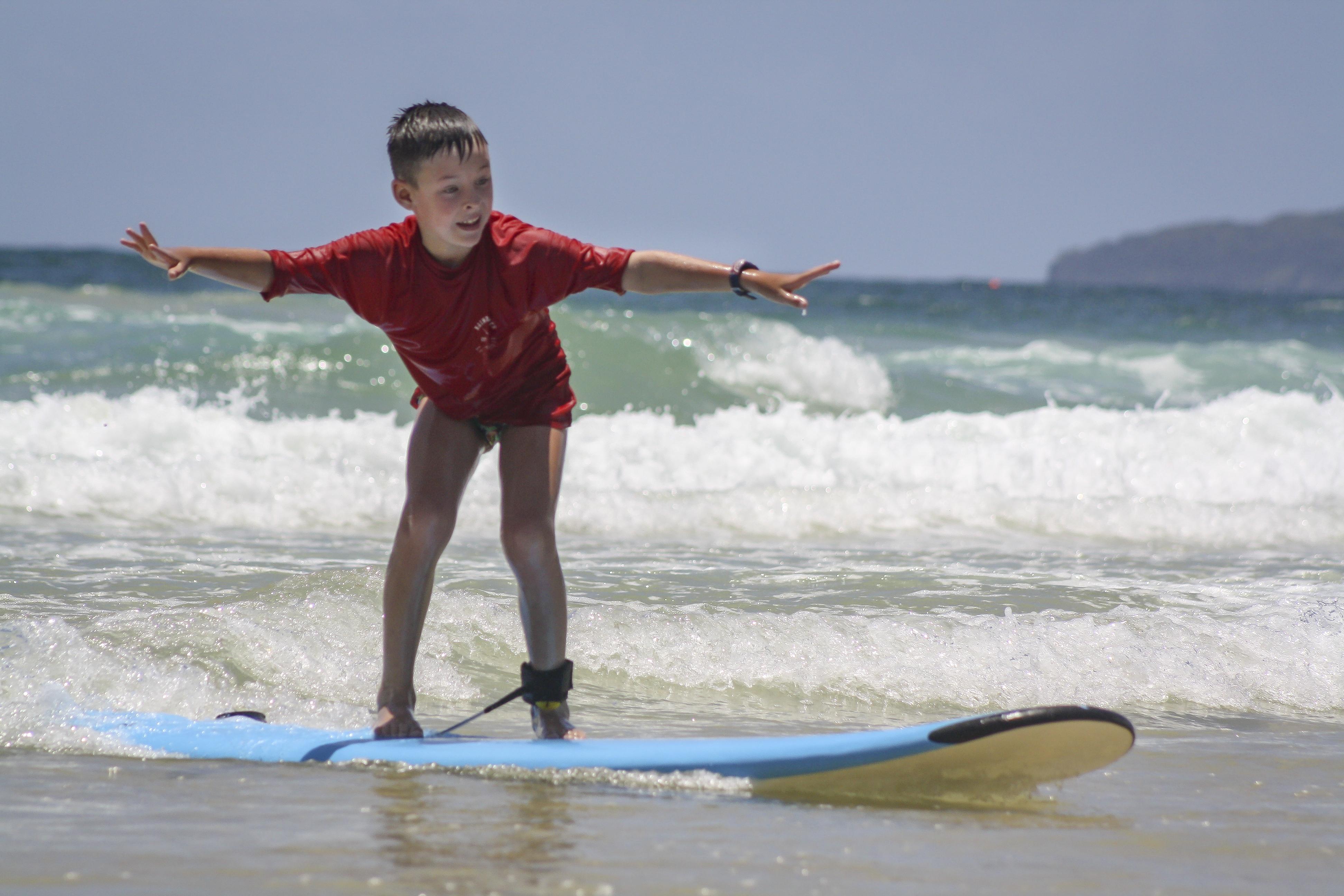 School Holiday Surfing