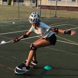 surf-skate learning turns