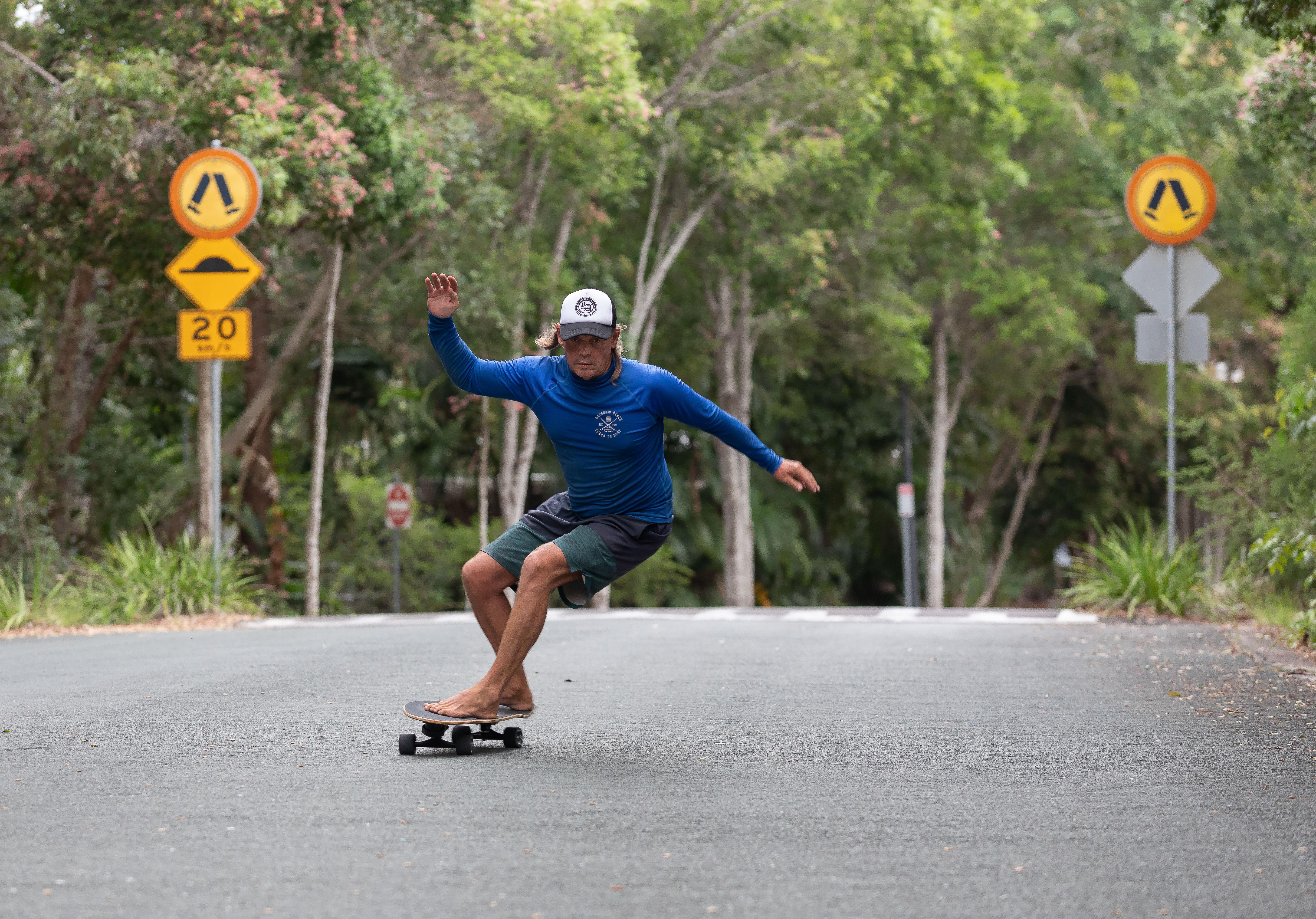 Surf-Skate Training