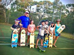 surf-skate workshop crew