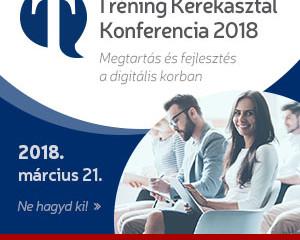 Tréning Kerekasztal Konferencia 2018