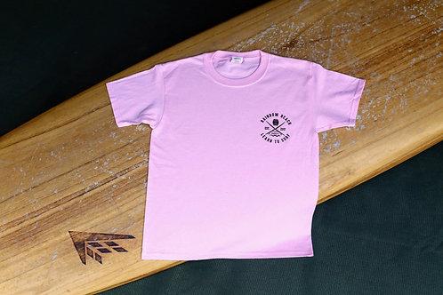 Rainbow Beach Learn to Surf 2020 Youth T-Shirt Black Print