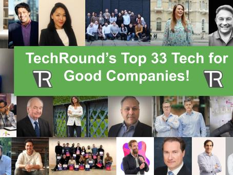 IE Hub make TechRound's Top 33 Tech for Good